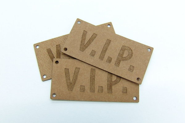 "SnapPap Label 10 Stck ""V.I.P."" 42x20mm"