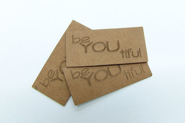 "SnapPap Label 10 Stck ""beYOUtiful"" 42x20mm"