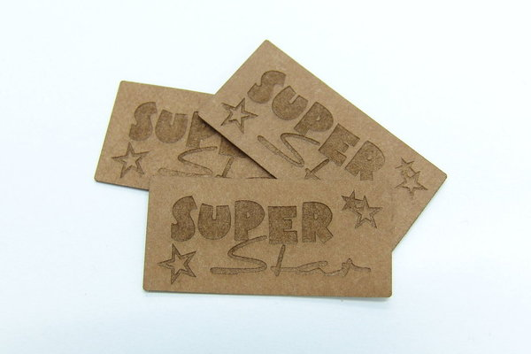 "SnapPap Label 10 Stck ""SuperStar"" 42x20mm"